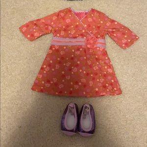 American Girl Doll Chrissa's Dress